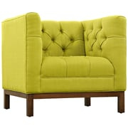 "Modway Panache 34"" Fabric Armchair, Wheatgrass (EEI-1801-WHE)"