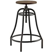"Modway Toll 33"" Barstool, Brown (EEI-2042-BRN)"