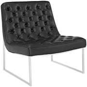 "Modway Ibiza 32""W Memory-Foam Lounge Chair, Black (EEI-2089-BLK)"