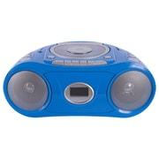 Hamilton Buhl  MPC-5050 Bluetooth CD/Cassette/FM Boombox, Blue