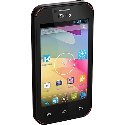 Kurio Dual Core MT6572A-W Android 4.2 Smartphone for Kids, 4GB, Blue (96260)