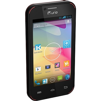 Kurio Dual Core MT6572A-W Android 4.2 Smartphone for Kids, 4GB, Pink (96262)