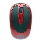 Gear Head (MP2200RED) USB Wireless Optical Mouse, Red/Black