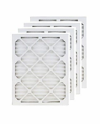 """""Brighton Professional MERV 8 24"""""""" x 24"""""""" x 1"""""""" (23.38"""""""" x 23.38"""""""") Pleated 1"""""""" Air Filter, 4/Pack (FB24X24N_4)"""""" 2084514"