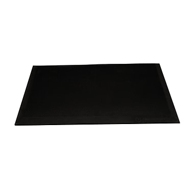 Integrate™ - Tapis anti-fatigue (IM-FATIGUEMAT-01), 17,5 x 23,5 x 0,5 po, noir