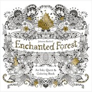 "Chronicle Books ""Enchanted Forest Coloring Book,"" Softcover (CH-67488)"