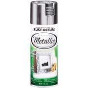 Rust-Oleum 11 oz Metallic Spray Paint, Silver (R831-19158)