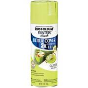 Rust-Oleum Painter's Touch 12 oz Ultra Cover Aerosol Paint, Key Lime (PTUC249-104)