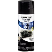 Rust-Oleum Painter's Touch 12 oz Ultra Cover Aerosol Paint, Gloss Black (PTUC249-122)