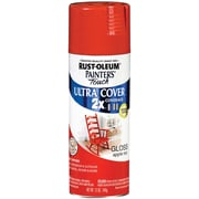 Rust-Oleum Painter's Touch 12 oz Ultra Cover Aerosol Paint, Apple Red (PTUC249-124)