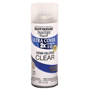 Rust-Oleum Painter's Touch 12 oz Ultra Cover Aerosol Paint, Semi-Gloss Clear (PTUC249-49859)
