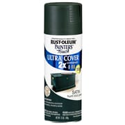 Rust-Oleum Painter's Touch 12 oz Ultra Cover Satin Aerosol Paint, Hunt Club Green (PTUCS249-074)