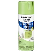 Rust-Oleum Painter's Touch 12 oz Ultra Cover Satin Aerosol Paint, Green Apple (PTUCS249-077)