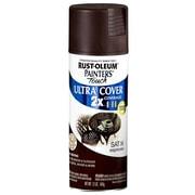 Rust-Oleum Painter's Touch 12 oz Ultra Cover Satin Aerosol Paint, Espresso (PTUCS249-081)