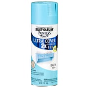 Rust-Oleum Painter's Touch 12 oz Ultra Cover Satin Aerosol Paint,  Aqua (PTUCS249-085)