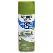 Rust-Oleum Painter's Touch 12 oz Ultra Cover Satin Aerosol Paint, Eden (PTUCS249-418)