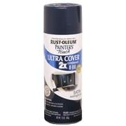 Rust-Oleum Painter's Touch 12 oz Ultra Cover Satin Aerosol Paint, Midnight Blue (PTUCS249-854)