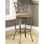 Hillsdale Hanover 30'' Swivel Bar Stool with Cushion