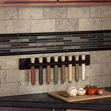 RQ Home Spice Rack; Oil Rubbed Bronze