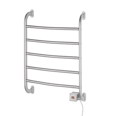 Jerdon Warmrails Regent Wall Mount Towel Warmer Rack; Chrome