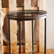 IMAX Round End Table