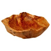 Enrico Rootworks Extra Large Flat Cut Serving Bowl