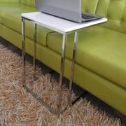 Pangea Home Smash Tray Table; White