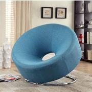 Wildon Home   Papasan Chair; Blue