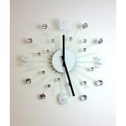DesignArt 20'' Crystal Modern Wall Clock