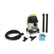 WORKSHOP 4 Gallon 2.5 Peak HP Portable Stainless Steel Wet/Dry Vacuum