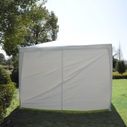 Outsunny 30 Ft. W x 10 Ft. D Gazebo Canopy; White