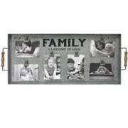 Fetco Home Decor Albine ''Family A Lifetime of Love'' Clip Collage Picture Frame