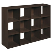 ClosetMaid Cubeicals 35.9'' Cube Unit; Espresso