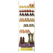 Max Space Customizable Over Door Shoe Rack