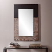 Wildon Home   Holly and Martin Wagars Mirror; Burnt Oak / Black