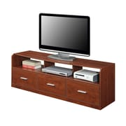 Home Loft Concepts Designs 2 Go TV Stand; Cherry
