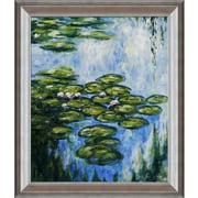 Tori Home Monet Water Lilies (Vertical) Canvas Art