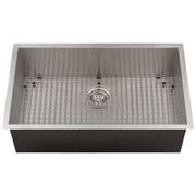 Ticor Sinks Zero Radius 28'' L x 19'' W Kitchen Sink