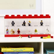 LEGO by Room Copenhagen Minifigure Display Case for 8; Red