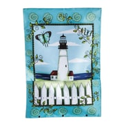 Evergreen Enterprises, Inc Bloom Pockets Lighthouse Garden Flag