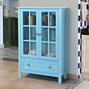 Homestar Tall Cabinet; Blue