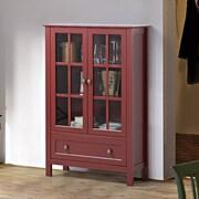 Homestar Tall Cabinet; Red