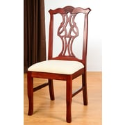 Benkel Seating Chippendale Side Chair; Mahogany