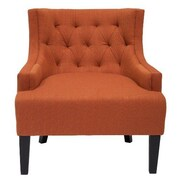 BestMasterFurniture Living Room Arm Chair; Pumpkin