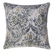 14 Karat Home Inc. Savannah Throw Pillow; Curry/Harbor/Moss/Indigo