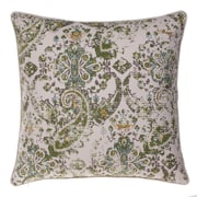 14 Karat Home Inc. Savannah Throw Pillow; Curry/Harbor/Chestnut/Moss