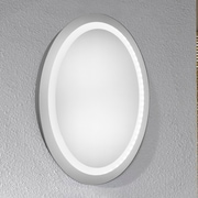 Elegant Lighting Element LED Electric Oval Mirror; 30'' H x 23''  W x 1.6'' D