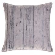 14 Karat Home Inc. Planks Throw Pillow; Indigo