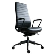 Eurotech Seating Frasso Leather High-Back Office Chair With Tilt Lock; Loop
