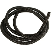 "American Terminal Black Split-loom Cable Tubing, 100ft (.5"")"